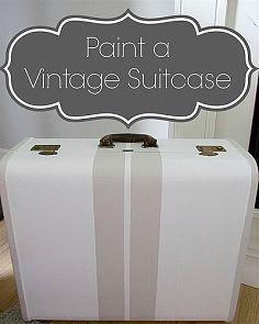 Hometalk :: Vintage Suitcase Love!!! :: Jeannie Scott's clipboard on Hometalk
