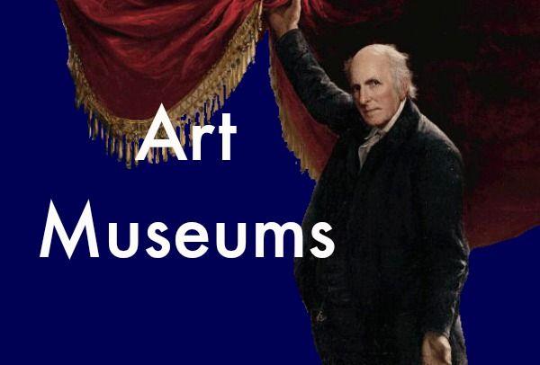 Art Museums, Pinterest Board Cover