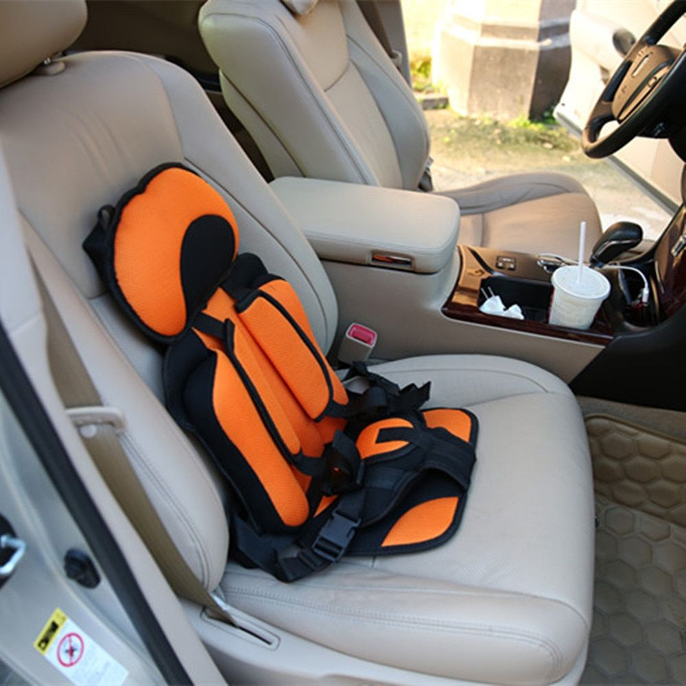 Small Portable Three Point Child Safety Seat Cushion Baby