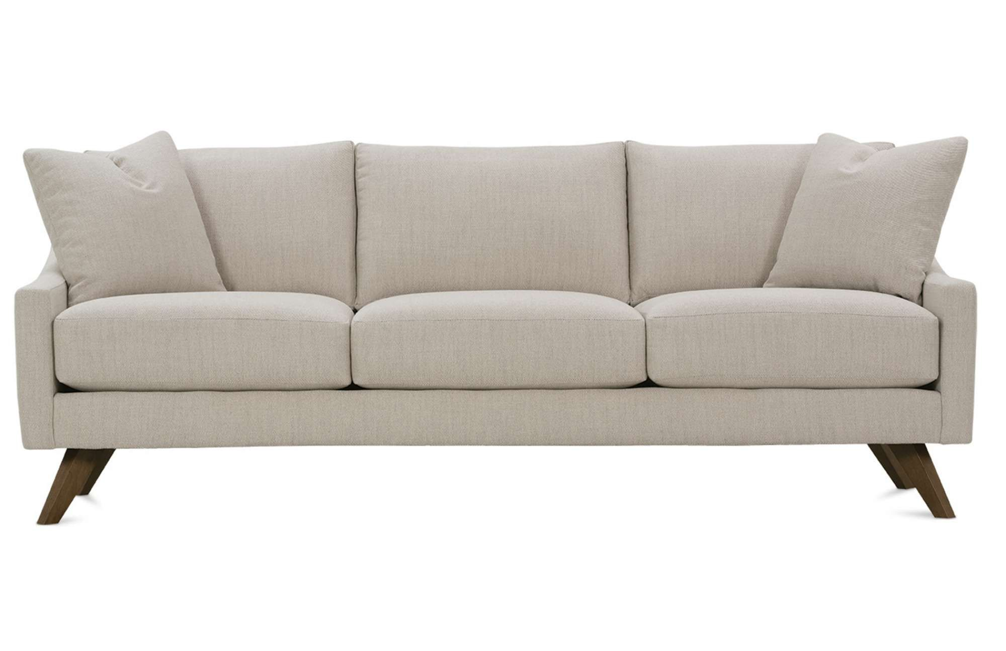 Sofa Pillows The Nash Sofa is a sleek and modern design from Rowe Furniture This style can