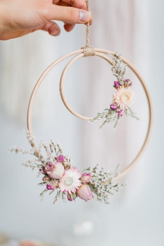Photo of Wall decoration flower wreath wall decorations wallhanging floral dry flowers decoration