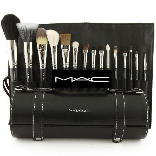 set de brochas de maquillaje mac