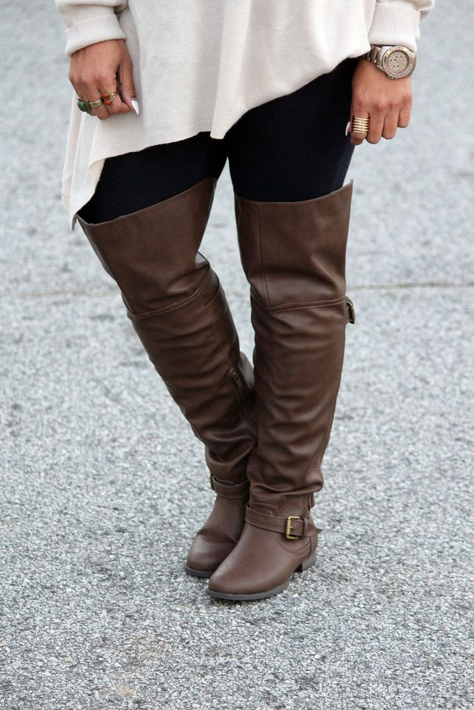 The Boots... - #CasualOutfit, #DailyOutfit - http://curvy.fashion/2015/01/04/the-boots/