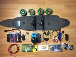 3d Printed Electric Longboard Longboards Pinterest Electric