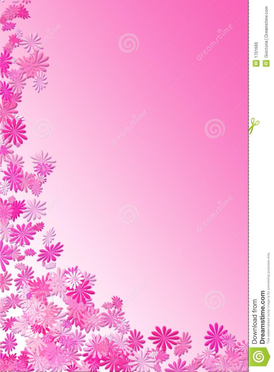 Pink Daisy Frame Royalty Free Stock Image - Image: 1701666