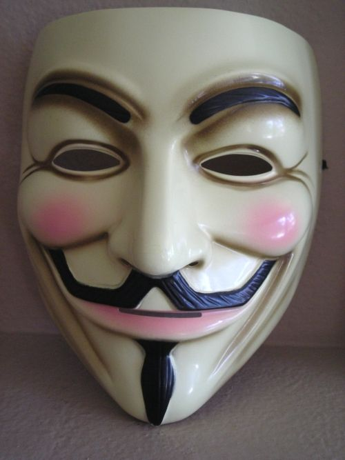 LICENSED V FOR VENDETTA MOVIE ADULT COSTUME MASK~GUY FAWKES~OCCUPY~ANONYMOUS~USA | eBay