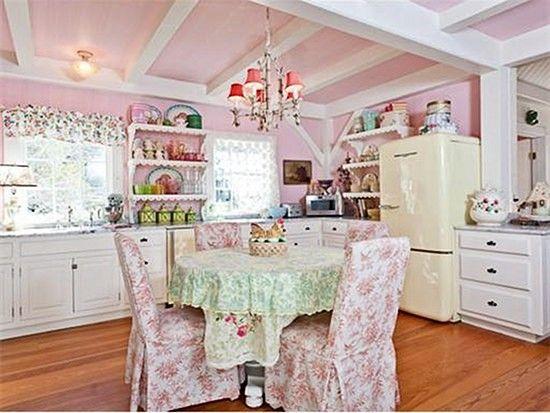 rosa cocina elegante lamentable | Shabby chic | Pinterest | Elegante ...