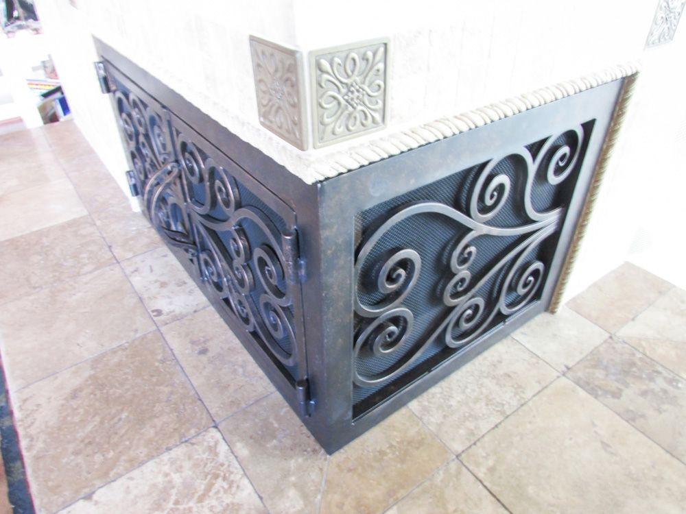 Fireplace Door fireplace door guy : L-Shape Custom Fireplace Doors   Fireplace Door Guy   Things I ...
