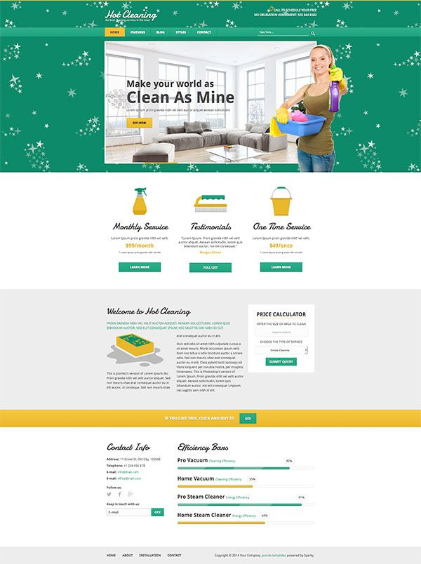 Hot cleaning is responsive joomla template for business websites hot cleaning is responsive joomla template for business websites specialized for the accmission Image collections