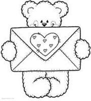 Jugar Y Colorear Dibujos Para Colorear Carta De Amor Manualidades Feliz Dia De La Amistad Dibujos De San Valentin