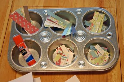 I love this idea of organizing for when I'm mass producing cards!