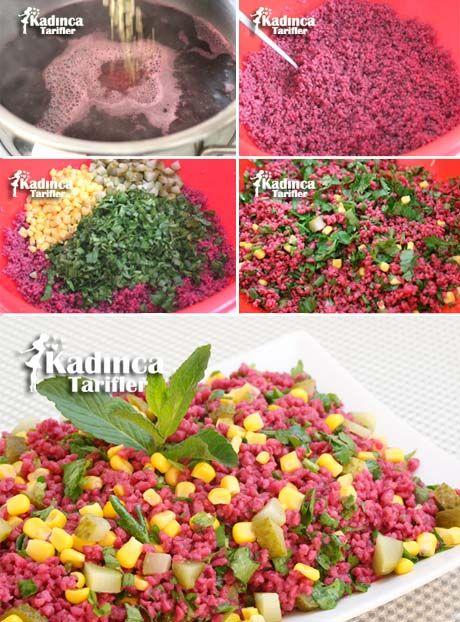 Şalgamlı Bulgur Salatası Videosu