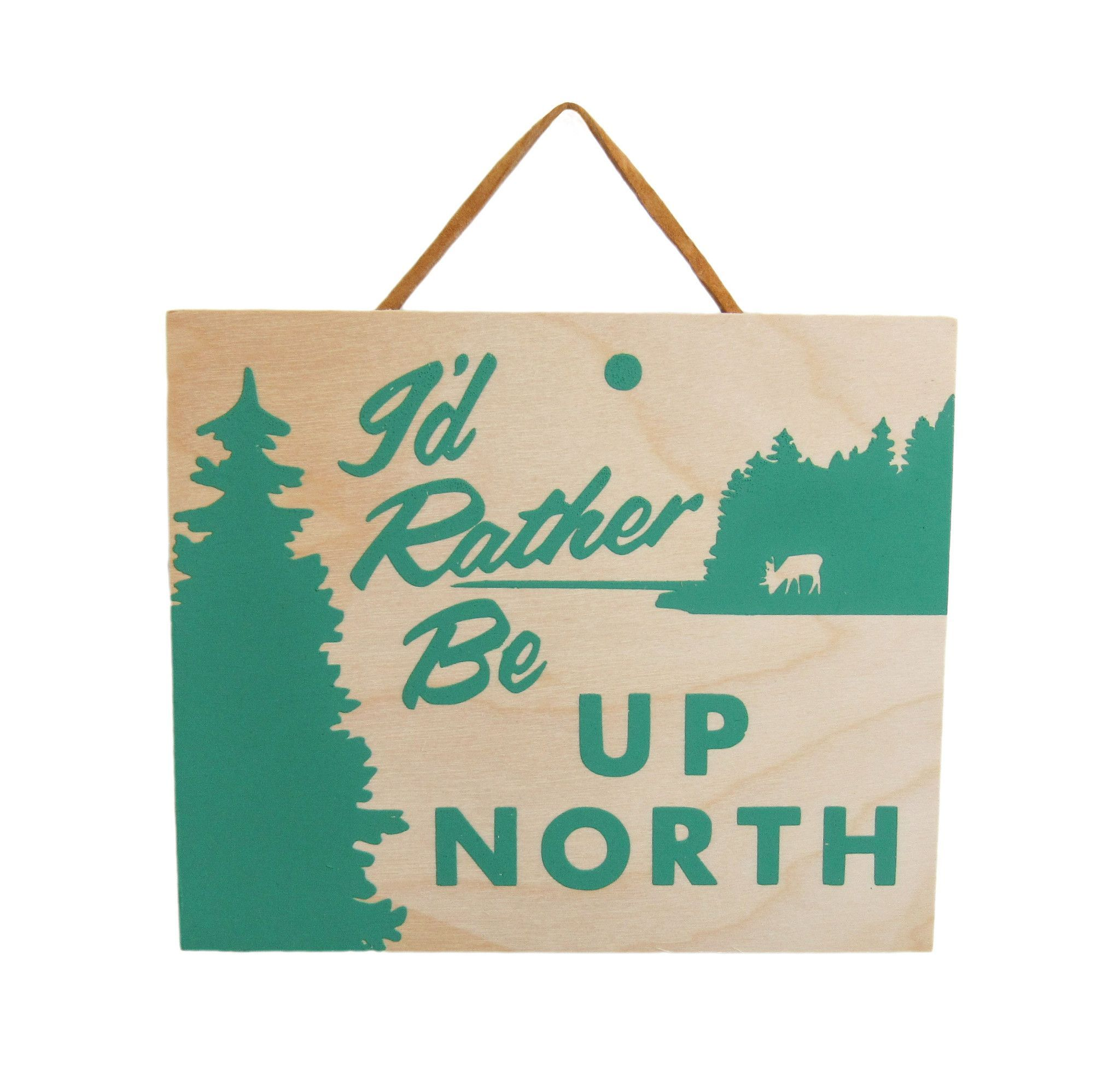 Up North - 5x6 Birch | Banner printing, Home gifts ...