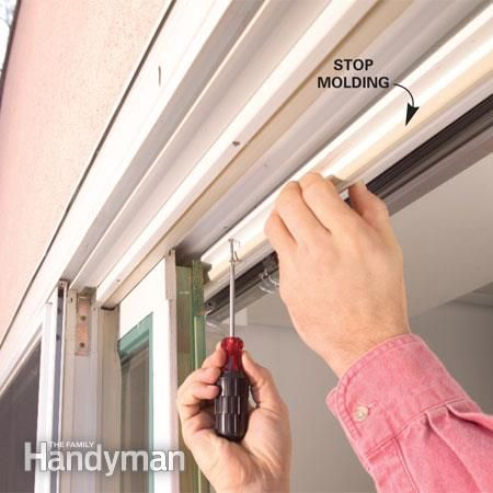 How To Repair A Sliding Door House Tips Pinterest Sliding Door