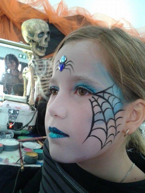 maquillage enfant , maquillage enfant halloween strasbourg