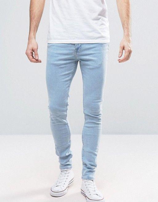 New Look Coloured Skinny Pantalones para Hombre