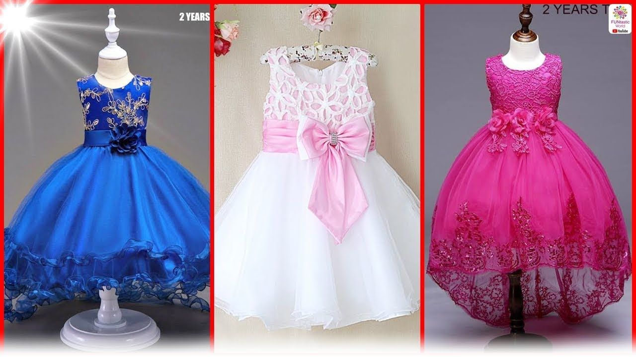 073a77001 Latest Princess Baby Frocks Designs 2018