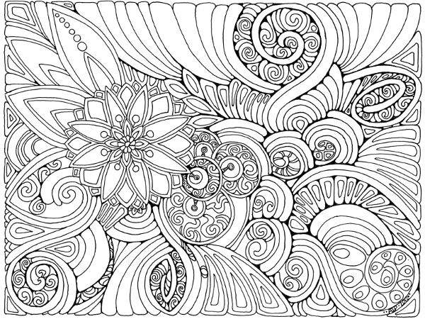 doodle ideas adult coloring pagescoloring