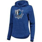 #BFCM #CyberMonday #NBAStore.com - #NBAStore.com Women's Dallas Mavericks Fanatics Branded Blue Distressed Team Speckled Fleece Pullover Hoodie - AdoreWe.com