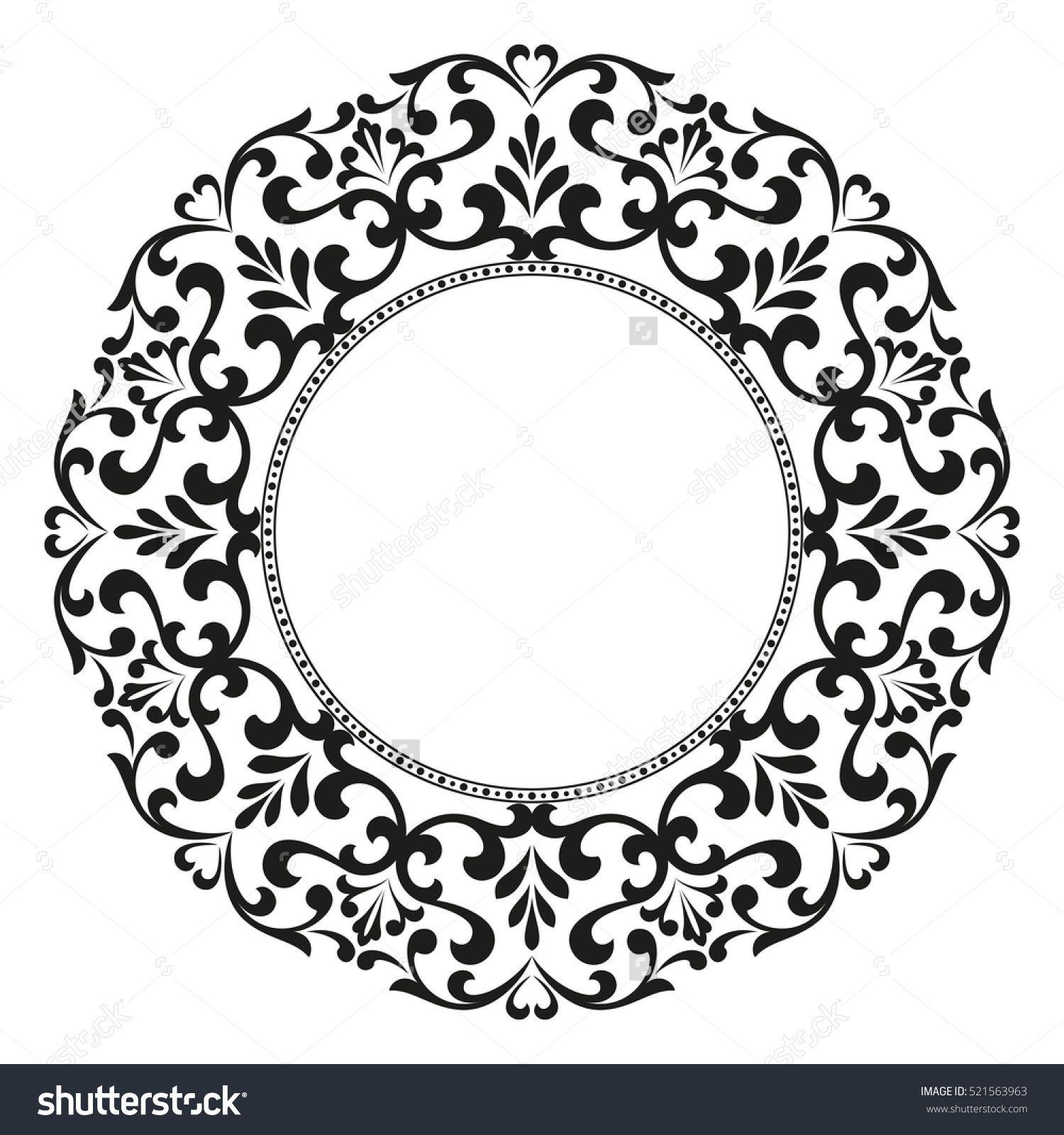 decorative line art frames for design template elegant element for rh pinterest ph gold lace border vector white lace border vector