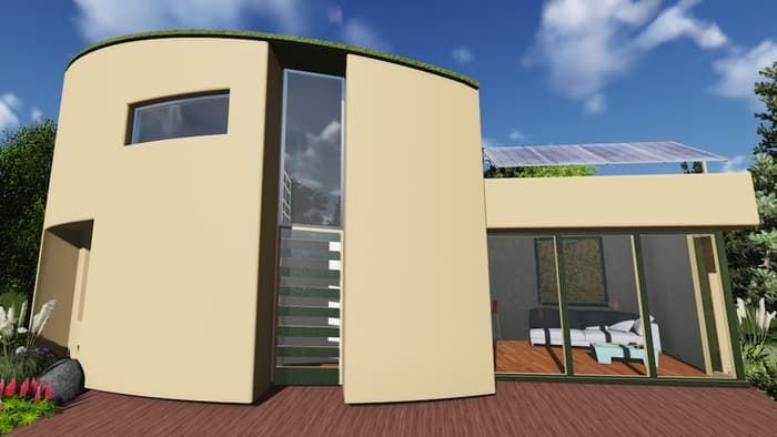 Green Built, a sustainable building company, has set up a Kickstarter campaign to build the HempHome: Tiny+, a small home that uses zero fossil fuels.  The Tiny+ uses Hempcrete, a non-toxic, concrete-like material made from a mix of hemp, lime, and water. The home will include a green roof with solar panels, efficient mechanical ventilation, and triple-glazed windows to maintain a steady inside temperature. Tiny+ will be built to meet strict green building code standards.