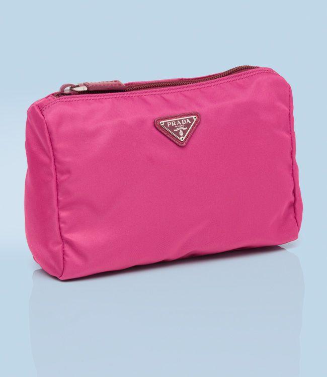f0bffbd46611 pink prada cosmetic pouch | my wish list | Cosmetic pouch, Bags ...