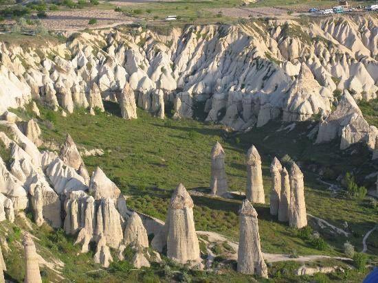 Ancient Origins Incredible places, amazing photos: 'Valley of Love' Cappadocia, Turkey