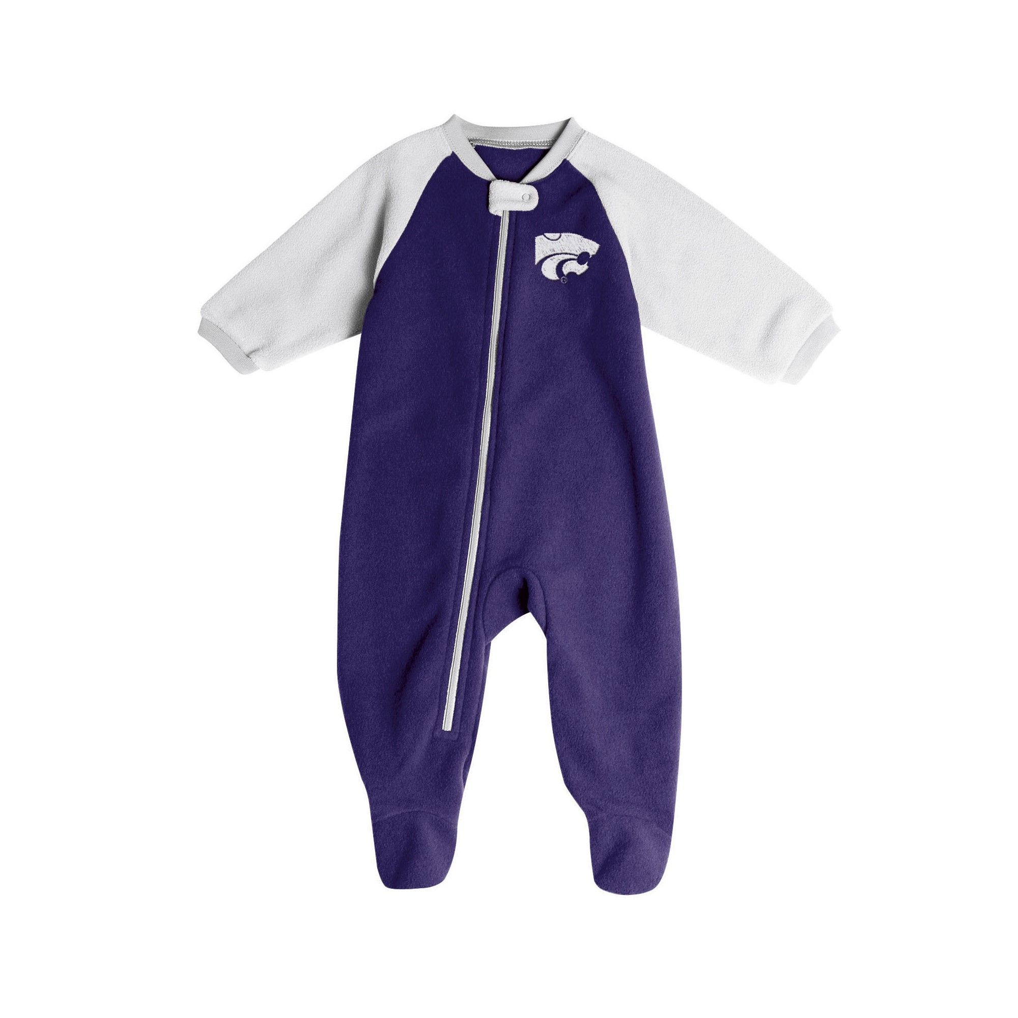 8b722cbef Kansas State Wildcats Baby Boys  Long Sleeve Blanket Sleeper - 3-6M ...