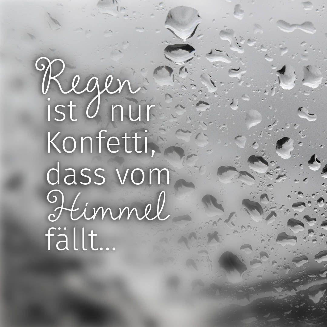 Regen Sprüche