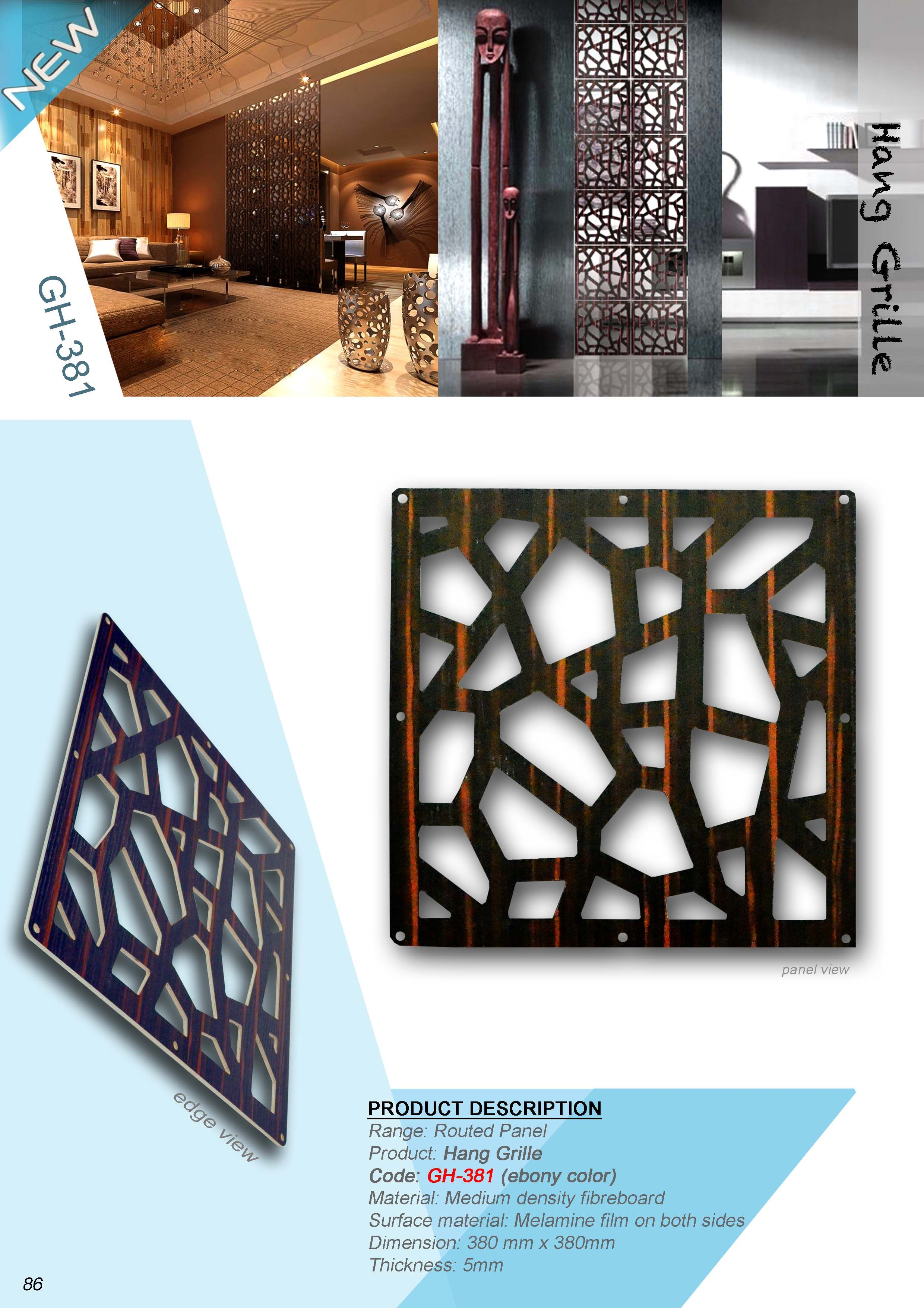 A Simplified And Low Cost Method Of Creating Dividers Within Any Given Space At A Standard Size Of 380mm X Wall Partition Design Faux Brick Walls Wall Design