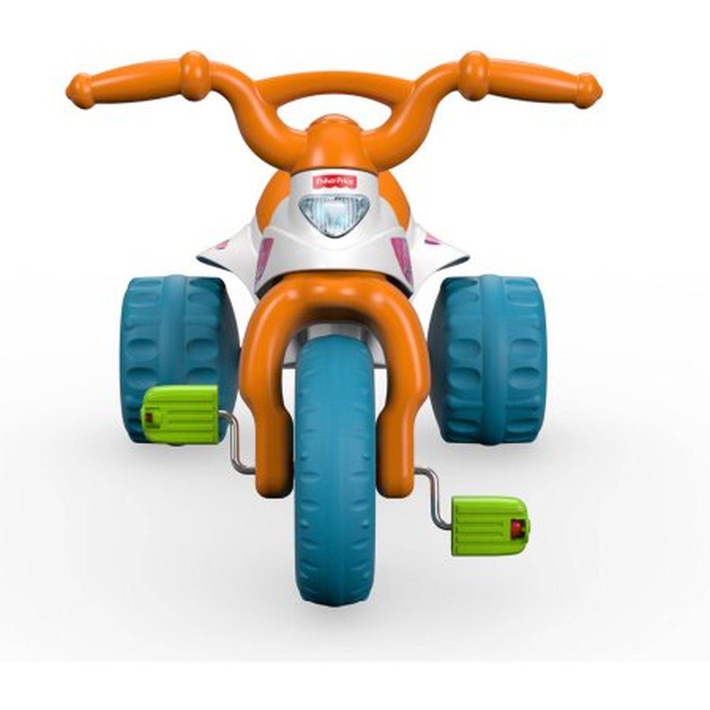 Fisher Price Tough Trike Motorcycle Ride Kids Tricycle Toy Bike