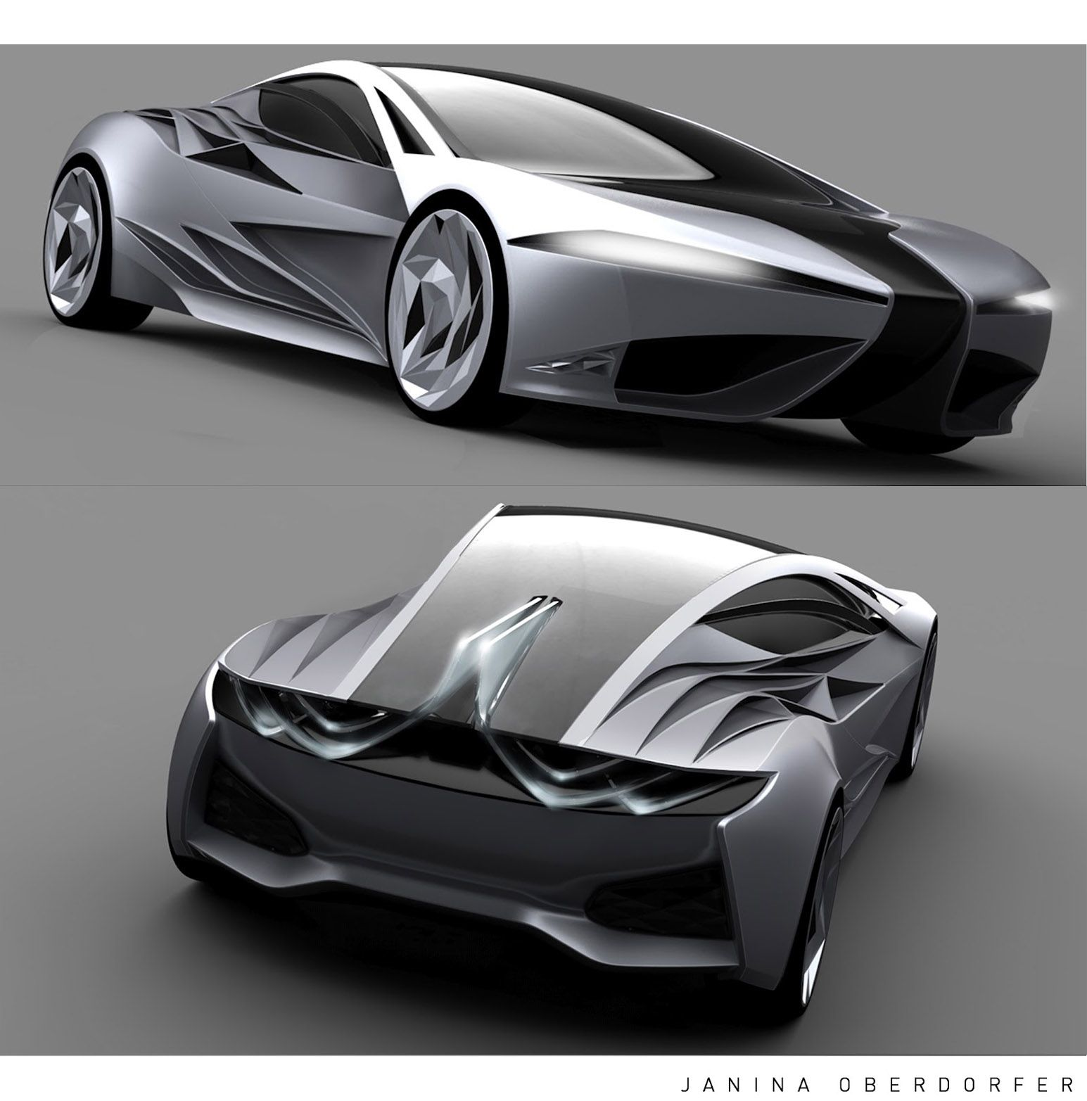 voiture janina oberdorfer concept design voiture de sport pin. Black Bedroom Furniture Sets. Home Design Ideas