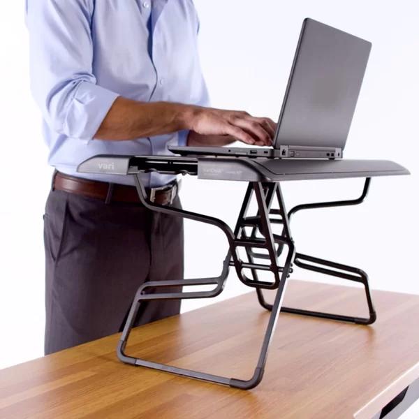 Laptop Height Adjustable Standing Desk Converter In 2020 Adjustable Standing Desk Converter Adjustable Height Standing Desk Adjustable Standing Desk