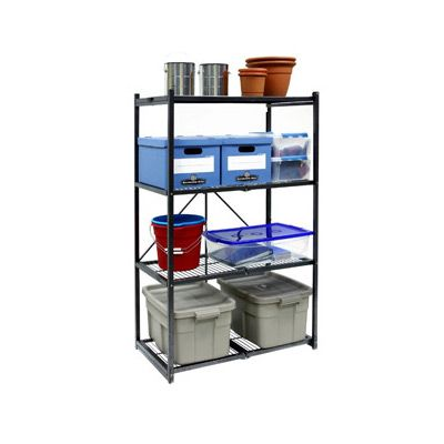 Origami 4 Tier Folding Shelf (Large)  $129.95  Origami 4 Tier Folding Shelf  (Large)  $129.95  Shelves Completely Open Or Fold In Less Than 20 Seconds!