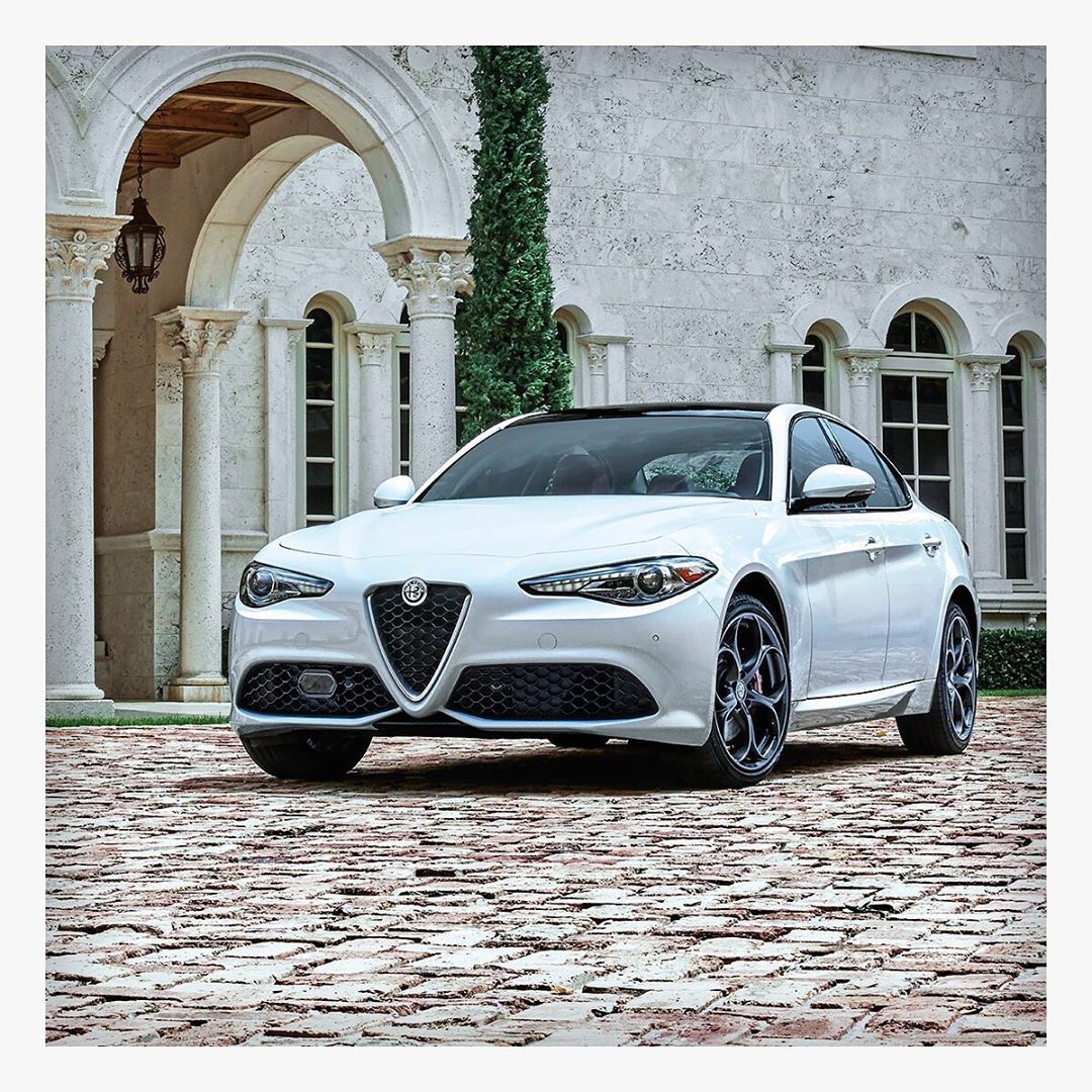 A Beauty To Behold And A Beast On The Road. #Giulia #Alfa