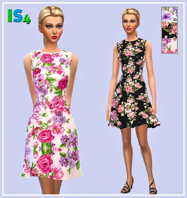 Irida Sims 4: Dress 46_IS • Sims 4 Downloads