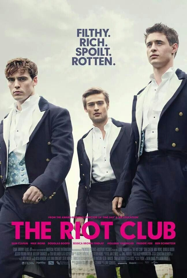 Movie I wants to see! #TheRiotClub #posh Sam Caflin ...