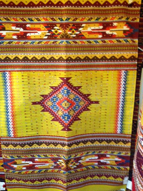 Handwoven Zapotec Rug From Del Sol Mesilla Indian Rugs