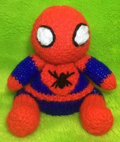 Spiderman Knitting pattern by Andrew Lucas in 2020 ...