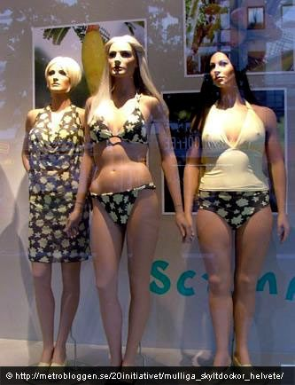 plus size realistic mannequin. you know, 'plus size' is a really