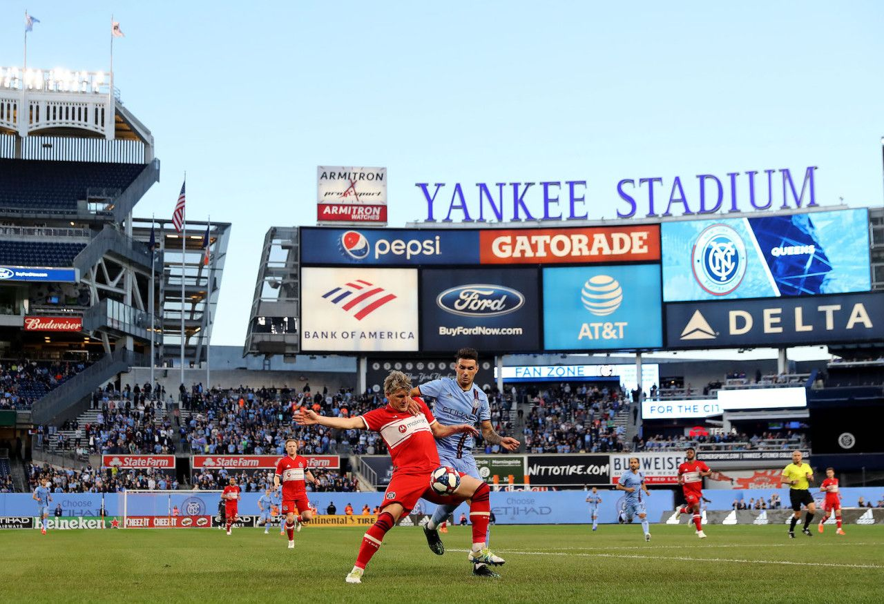 The Changing Us Soccer Pyramid And What Happens Next Us Soccer Yankee Stadium Stadium