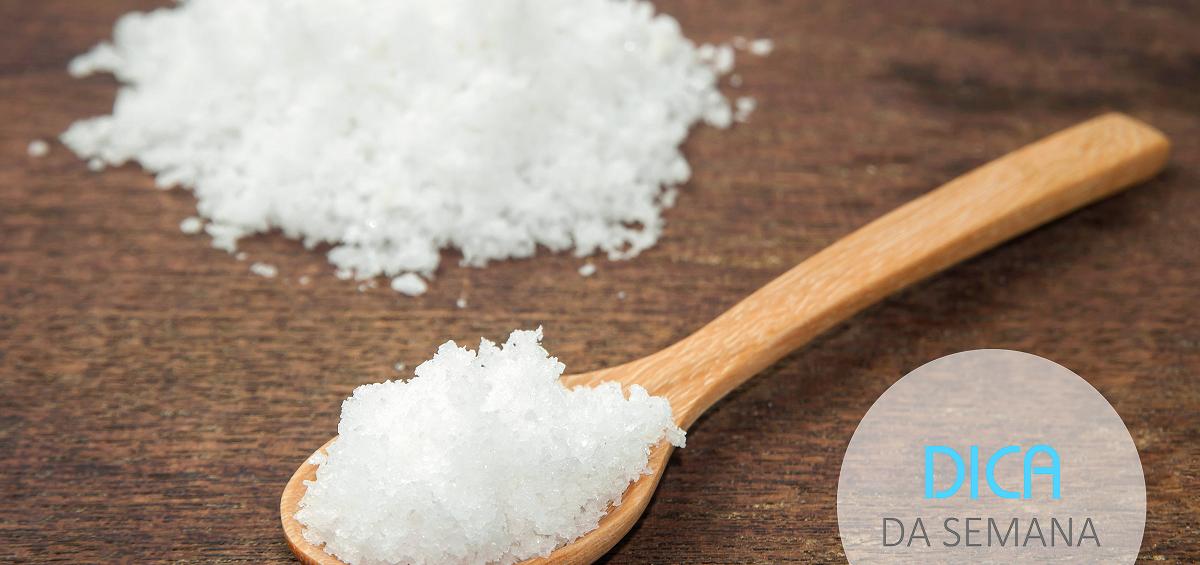 Reduza o consumo de sal