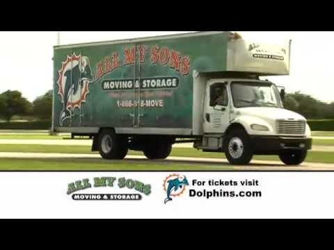 All My Sons Are Now The Official Movers Of The Miami Dolphins Of