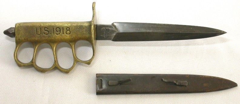 This Is A Ww1 Trench Knife Made For The Up Close And