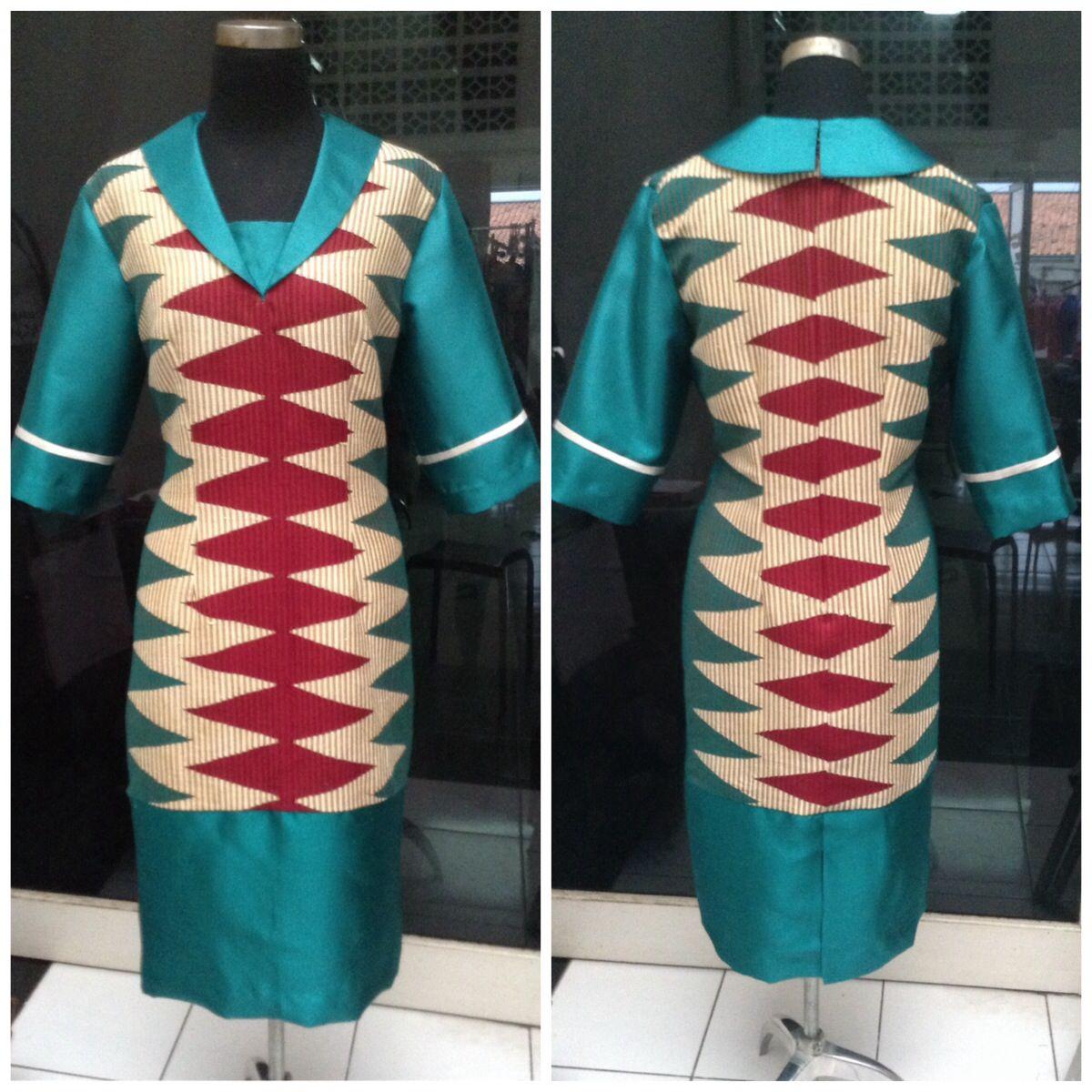 Maxi dress tenun rangrang