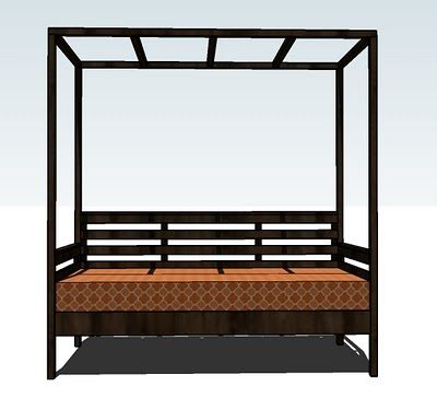 Bed for Chaney Furniture Pinterest Outdoor daybed, Daybed and