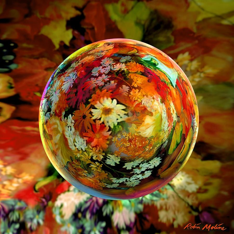 Orb of forever autumn By robin moline