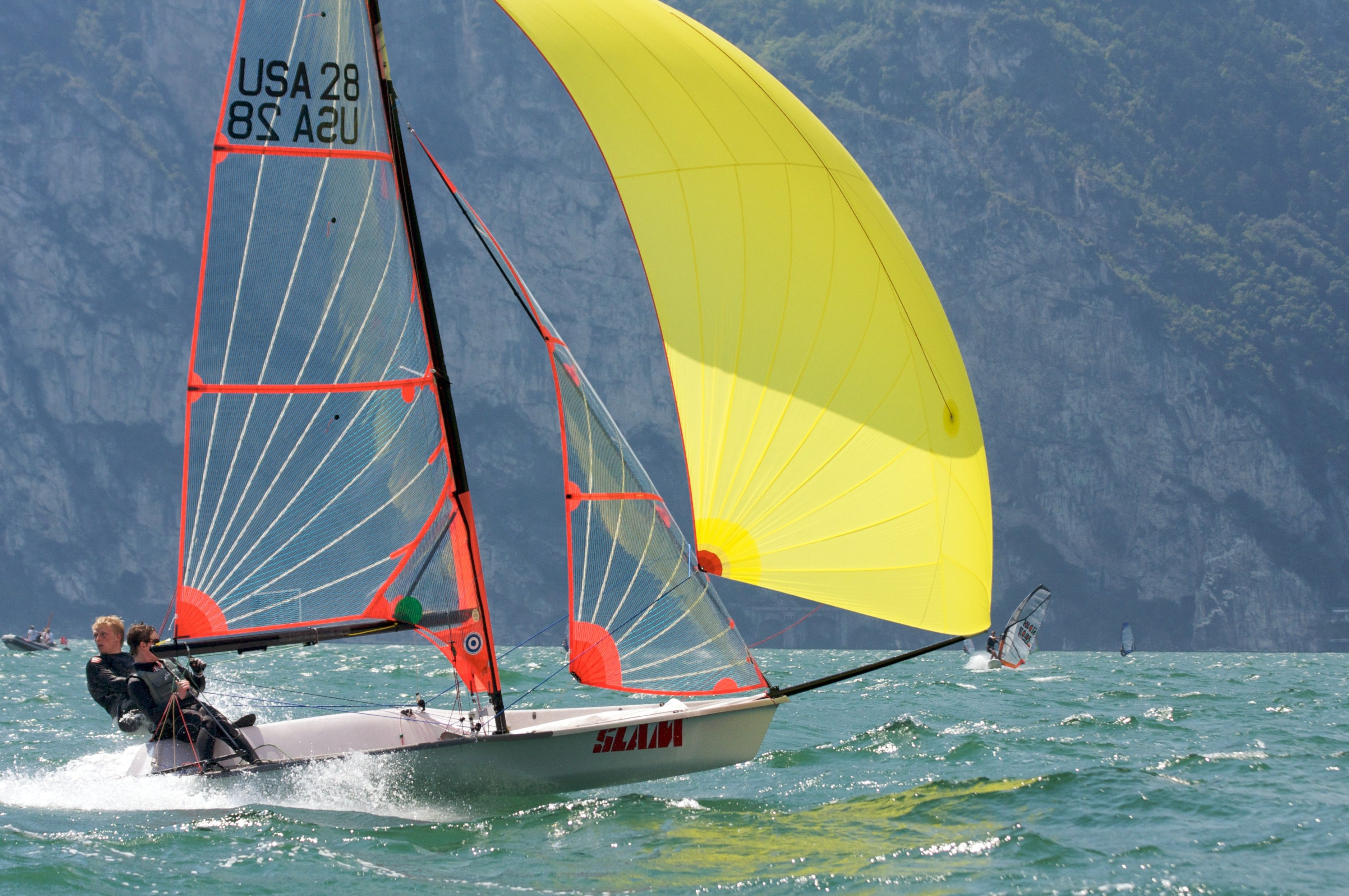 49er dinghy Google Search Boat, Sailing, Sailboat