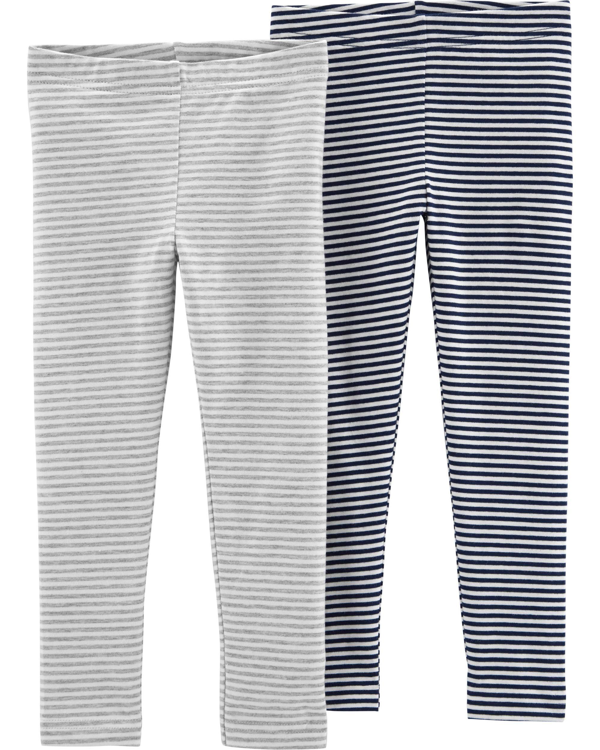6a7a454220f3d 2-Pack Striped Leggings | Charlotte's Wish List | Striped leggings ...