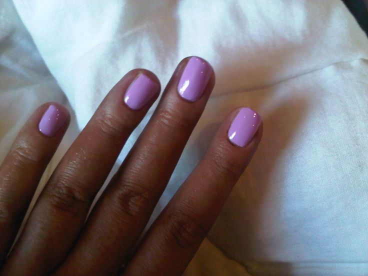 Dark Skin Your Style Journey Lilac Nails Fun Nail Colors